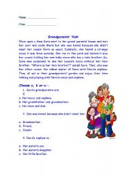 Family reading comprehension esl worksheet by mayanah family reading comprehension ibookread ePUb