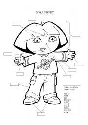 English Worksheets: Dora�s Body