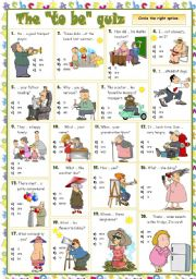 English Worksheet: The
