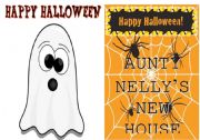 English Worksheets: Halloween Story - Minibook