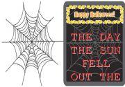 English Worksheet: Halloween Story - Minibook
