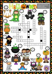 HALLOWEEN - CROSSWORD PUZZLE
