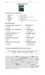 English Worksheet: Sherlock Holmes Movie 2009