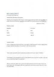 English Worksheets: LIke a sister