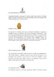 English Worksheets: Student Life