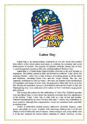 Printables Labor Day Worksheets english worksheet labor day