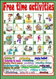 Printables Free Student Worksheets english teaching worksheets free time activities activities