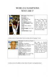English Worksheets: Celebroties