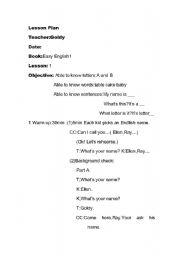 English Worksheets: Easy English
