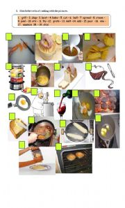 verbs of cooking and recipes