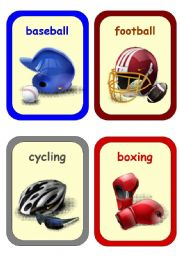 English Worksheets: Sports and Free Time Activities 1-3