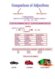 Ñomparison of adjectives