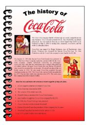The History Of Coca Cola Reading And Active Pive Exercise In Past