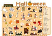 English Worksheets: Halloween - Part 1