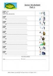 English Worksheets: Bugs