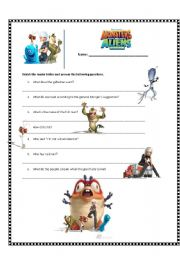 English Worksheets: Monsters VS Aliens
