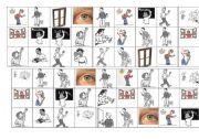 classroom instructions bingo cards 4