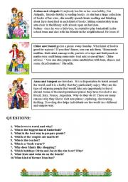 English Worksheets: Who are they? What do they  do? PART 2