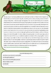 English Worksheets: Dian Fossey