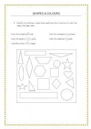 english teaching worksheets shapes. Black Bedroom Furniture Sets. Home Design Ideas