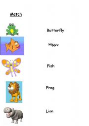English Worksheets: Do you know this animals?