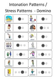graphic relating to Stress Quiz Printable identify Intonation worksheets