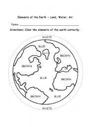 composition of the earth preschool esl worksheet by. Black Bedroom Furniture Sets. Home Design Ideas