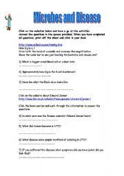 English Worksheets: MICROBES
