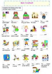 Worksheet Classroom Rules Worksheet english teaching worksheets classroom rules rules
