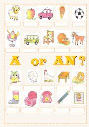 A or AN ?
