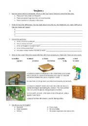 English Worksheet: Toy Story 2-Scenes 1 to 4