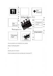esl worksheets for beginners directions worksheet. Black Bedroom Furniture Sets. Home Design Ideas