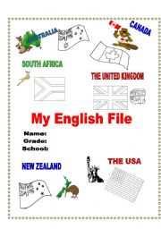 worksheet: My English File Cover