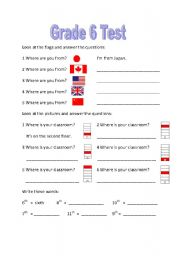 English grammar worksheets for grade 6 with answers pdf