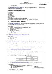 English Worksheets: BOWLING FOR COLUMBINE WEBQUEST