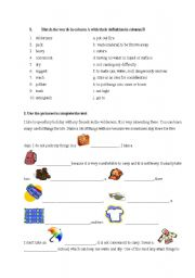 English Worksheets: Holiday in wilderness