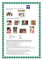 English Worksheets: Spanglish
