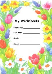 English Worksheets: The covers
