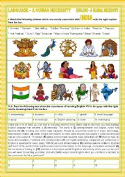 A TOUR AROUND ENGLISH SPEAKING COUNTRIES - INDIA