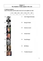 English Worksheet: I have a dream; Martin Luther King