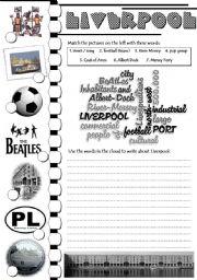 Liverpool - writing task
