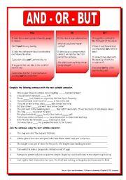 English Worksheets: Basic Connectors