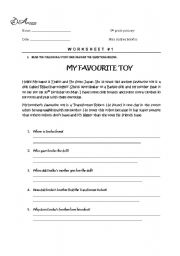 WH QUESTIONS READING COMPREHENSION - ESL worksheet by andreabb15