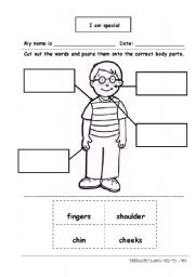math worksheet : english teaching worksheets body parts : Kindergarten Body Parts Worksheet