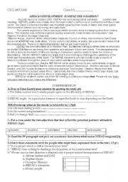English Worksheets: NEPAD