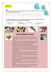 English Worksheets: Traditions around the world