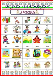 Worksheets Vocabulary Words For Kids english worksheet kid words vocabulary