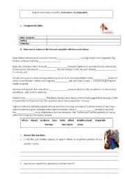 English Worksheet: Confessions of a Shopaholic