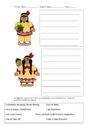 English Worksheets: Native American Worksheet