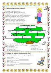 English Worksheets: Speaking series (2 ) - Personal information  -